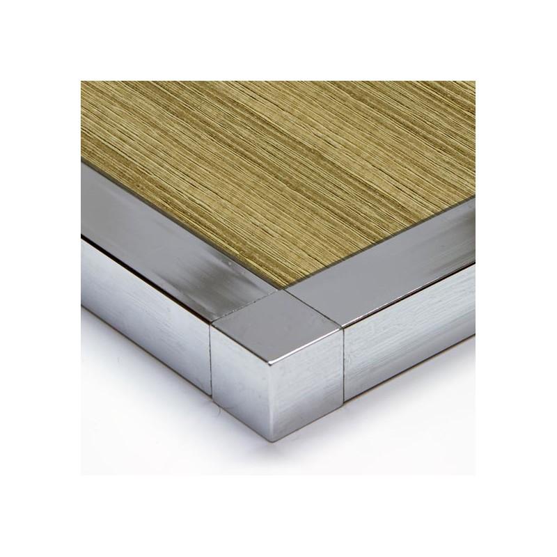 Tablero de aglomerado chapado con melamina color madera - Tablero madera ...