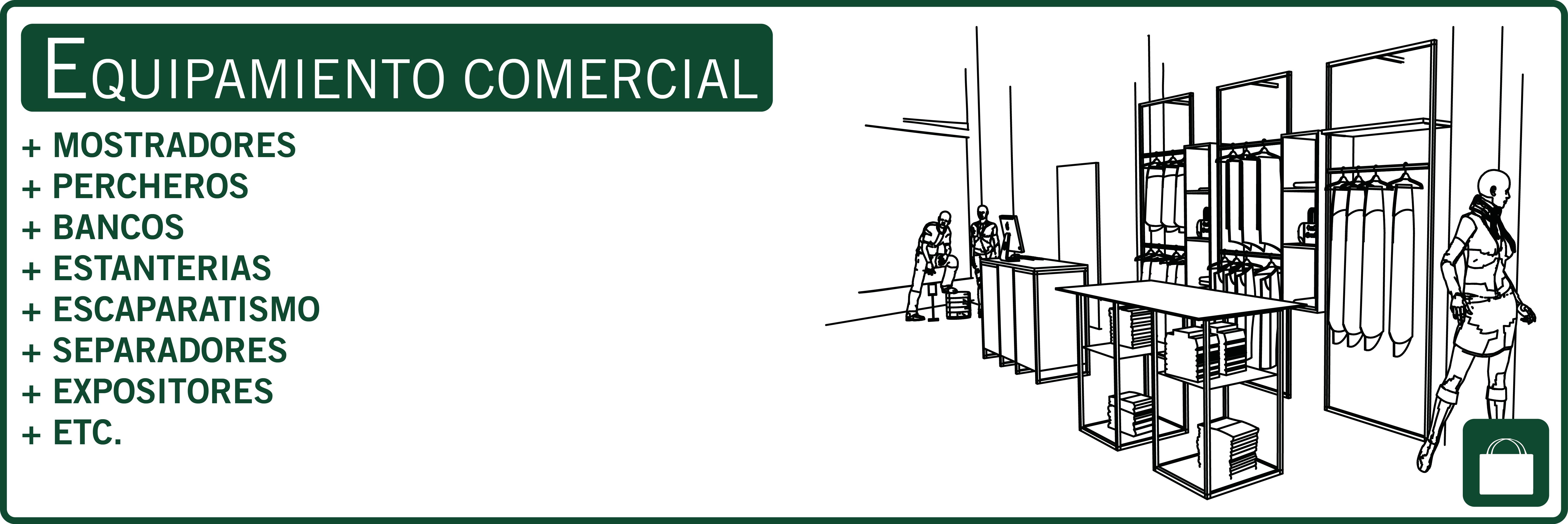 EQUIPAMIENTO COMERCIAL