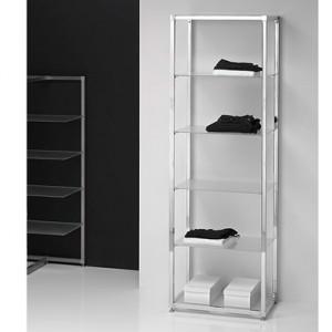 Estanteria estantes de cristal