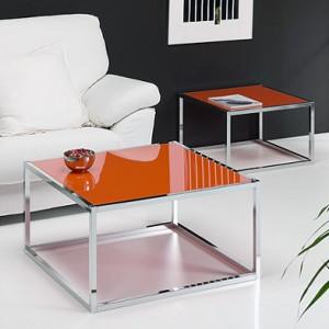 Mesas naranja